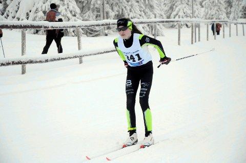 Vant: Sara Hovde vant sammenlagt i J15 år etter en spennende avslutning.