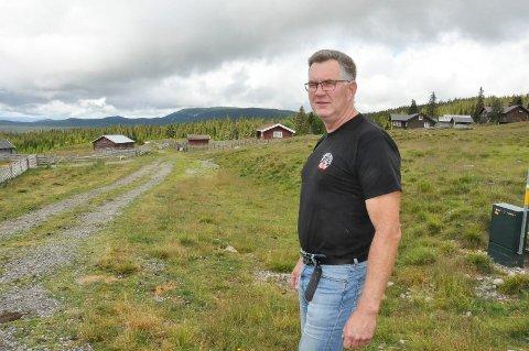 REDUSERING: Leder i Ringsaker kvigebeitelag Ståle Westby (53) ønsker ikke en redusering av antall kyr på Ringsakerfjellet om sommeren.