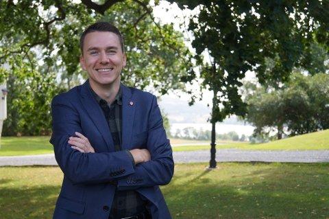 FJERDEPLASS: Even Eriksen (24) fra Trysil havnet på fjerdeplass på lista over Hedmark Ap's stortingsrepresentanter.