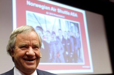 Administrerende direktør Bjørn Kjos fra Sokna.