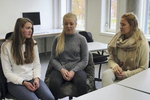 Andrea Ramsrud Kjellvang (17), Line Jahn Øverby (17) og Thea Victoria Thoen Lund (17) tok selv kontakt med hovedkomiteen for Operasjon Dagsverk, for å finne ut om elevene kunne bli tvunget til å jobbe på OD-dagen.