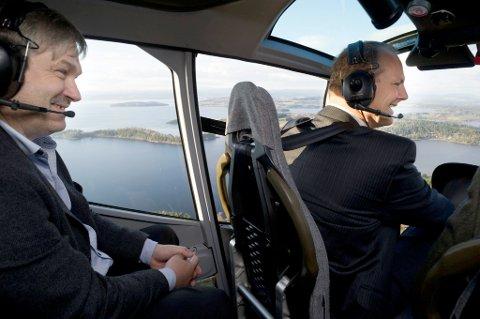 HOT: Ordfører Kjell Børre Hansen (Ap) heier på samferdselsminister Ketil Solvik-Olsen (Frp).
