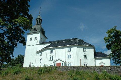 Jevnaker kirke. (Illustrasjonsfoto)