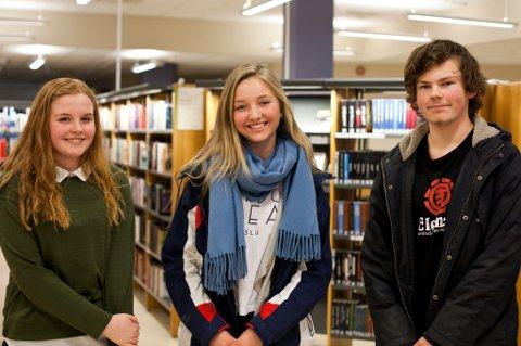 Vinnerne av Ungbok 2015 ble Rikke Enger Dihle (15), Audun Hammer Hovda (15) og Karine Jonsrud Pedersen (15).
