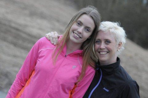 Løpet 12. september passer fint for Siri og Helle, som gjerne vil i gang igjen med trening etter ulykken. LESERFOTO