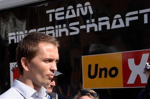 Sportsdirektør Lars Holm i Team Ringeriks-Kraft.