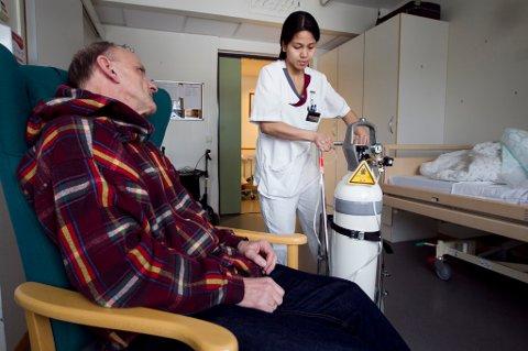 Sykepleiere har en frykt for selv å bli pleietrengende der de jobber.