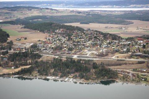 Flyfoto over Steinsåsen.