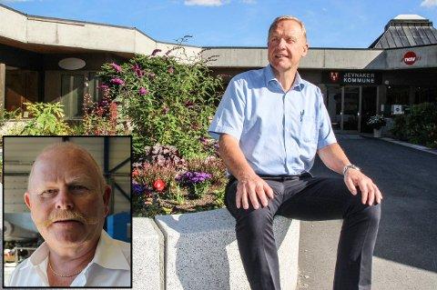 Lars Magnussen og Jevnaker Ap vil se på muligheten for å danne flertall med Geir Olsen (innfelt) og Høyre etter at SV og Sp har sagt nei.