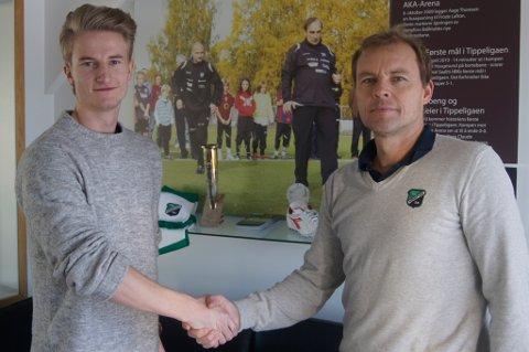 Magnus Johannessen er tilbake i HBK.