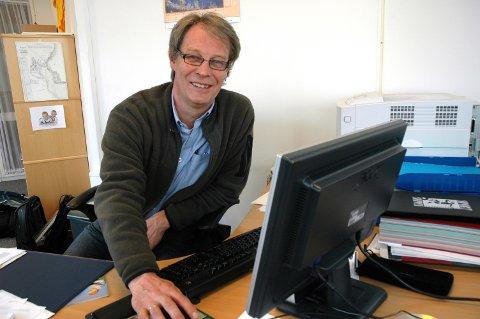 – Viktig ressurs: Sven Eystein Lindberg, leder av Ringerike Etablerersenter. Foto: Elin Harstad Iversen