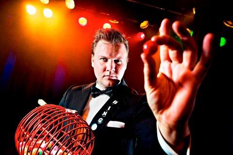 Det blir Bingo på Sørsida med Ronny Haugeland onsdag.