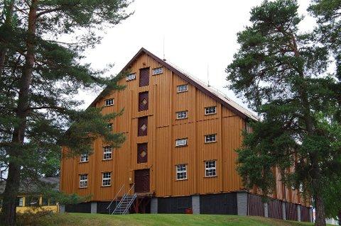 Kornmagasinet på Helgelandsmoen.