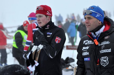 Eirik Sverdrup Augdal og Krister Sørgård.