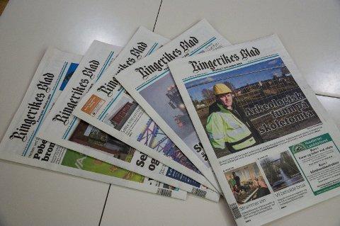 Enkelte abonnenter som får Ringerikes Blad i posten, og ikke levert med avisbud, kan oppleve at avisen ikke kommer på lørdag.