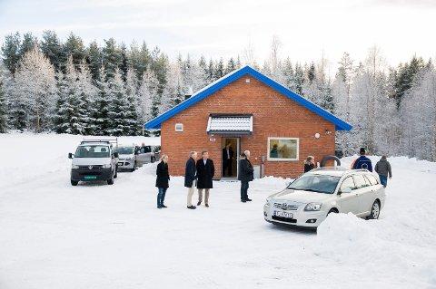 NES I ÅDAL: Her ble det bygd nytt renseanlegg til 35 millioner kroner.