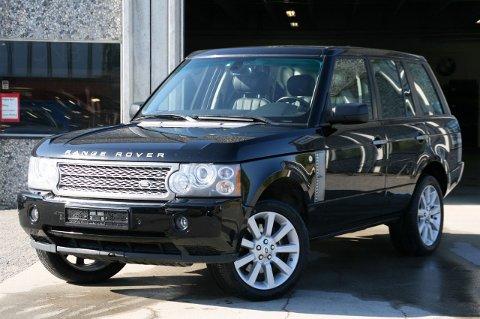 Denne Range Roveren fra 2006 ble stjålet fra Jarles bil