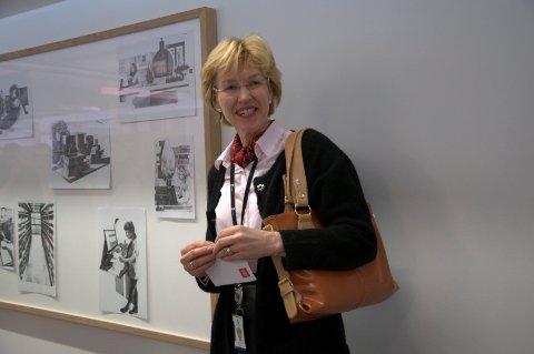 Kartverkssjef Anne Cathrine Frøstrup, synes statsbudsjettet er bra for Kartverket.
