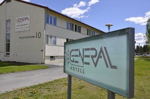 General Hotell på Helgelandsmoen.