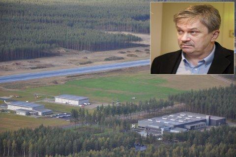Ordfører Kjell B. Hansen har kjempet for at Eggemoen skal bli vurdert som lokaliseringssted for et nytt nasjonalt beredsskapssenter. Mange trodde kampen var tapt. Men nå kan det bli ny vurdering.