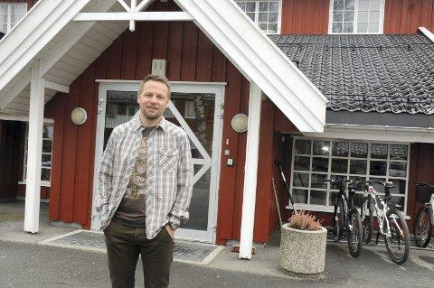 Rektor ved Folkehøyskolen på Ringerike, Morten Eikenes.