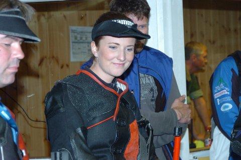 Anne Ingeborg Sogn Øiom fra Randsfjord skytterlag avsluttet med 41/8 i NM-finalen i felt på Landsskytterstevnet.