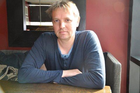 Erling Greftegreff, politioverbetjent og krimforfatter, er spent på hvordan boka mottas.