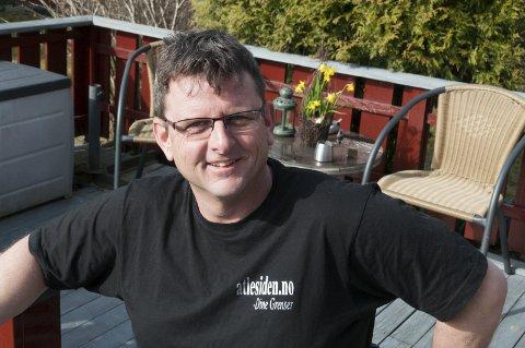 Atle haglund: Holder inspirasjonsforedrag i Fengselet. Foto: privat