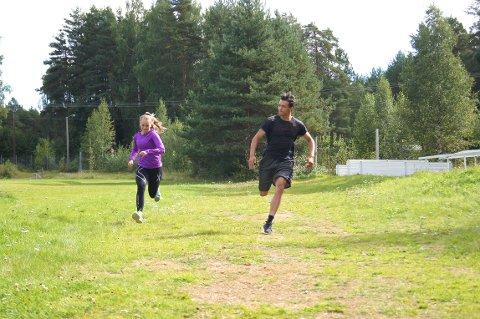 På sesjonsdagen er det en utholdenhetstest, så det er viktig å opprettholde en god fysisk form.