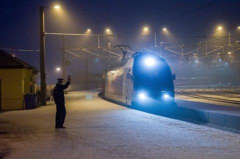 LØNNSOMT: En dobling av tilbudet på Bergensbanen vil bli bedriftsøkonomisk lønnsomt ved bygging av Ringeriksbanen, mener Jernbanedirektoratet.