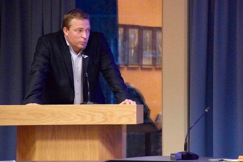 IKKE FOR GITT: Tommy Lafton (SV) mente at arrangørene ikke kunne ta det for gitt at kommunen ville komme med fiberpengene i etterkant.