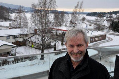 Per Berger ordfører i Hole håper reguleringsplanen gir gode løsninger for Sundvollenområdet.