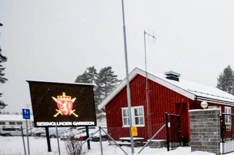 Befalskoleeleven tilhører Kompani C på Sessvollmoen.