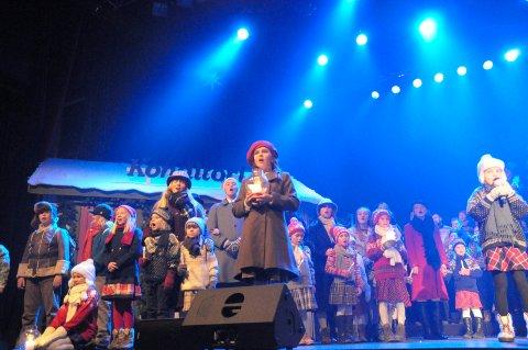 Fortellingen fortsetter: Også i år spiller Kaja Sjøli hovedrollen som Astrid i Et juleønske.