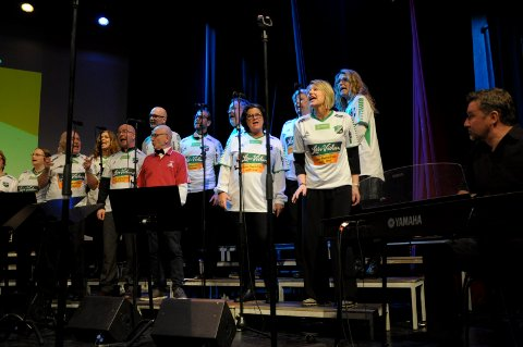 Kor og korps Apropos sang om Jonas Ørstavik og tipping