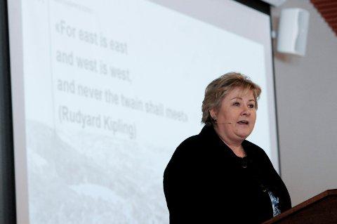 SVAR: - Ikke ønskelig, svarer statsminister Erna Solberg (H).