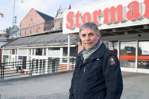 Ny butikk: Eier Haakon Tronrud legger ned Joker på Stormarkedet, men er allerede i gang med å få en ny dagligvarebutikk til Sentrumskvartalet.