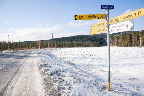 Strekningen fra Halstenrud ved Hallingby til Jørgensplass skal få ny asfalt i 2017.