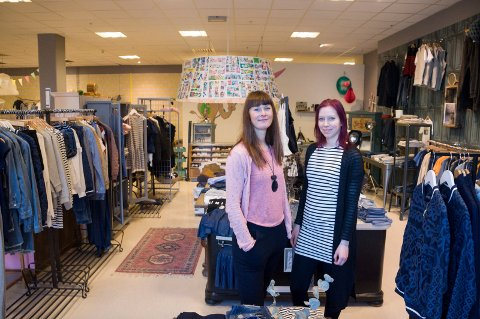 Gro-Helene Skalstad og Tanja Wollan i Mapamima flytter fra Sentrumskvartalet.
