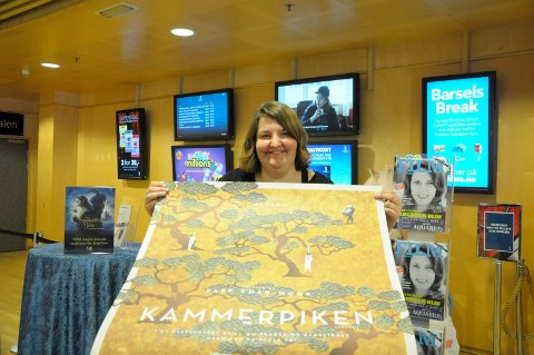 MER ENN MAINSTREAM: Katrine Wang Svendsen er assisterende Kinosjef ved Hønefoss kino med sans for smale filmer.