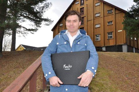 Galleri Klevjer: Thomas Klevjer ser fram til å endelig få en Odd Nerdrum-utstilling i lokalene på Helgelandsmoen.