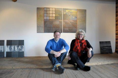 Malcolm Ashley og Inger Karthum har et unikt samarbeide: Walking the hills...