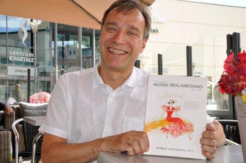 Per Vollestad gir ut Norsk Reklamesang, en bok full av muntre reklameviser og gode historier.