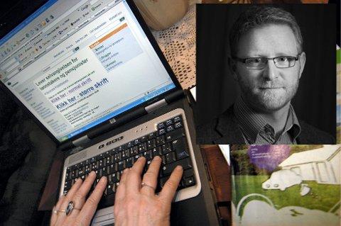 ÅPENHET: I dagens lederartikkel forklarer redaktør Bjørn Harald Blaker hvorfor Ringerikes Blad velger å legge ut skattetallene. Arkivfoto