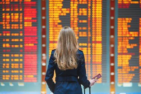 I Norge er fredag den dagen det er størst risiko for at flyet blir forsinket.