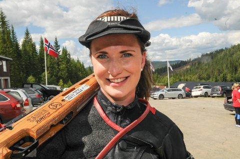 IKKE KONGELAG: Anne Ingeborg Sogn Øiom ikke på Kongelaget, men skyter på Prinsesselaget i morgen.
