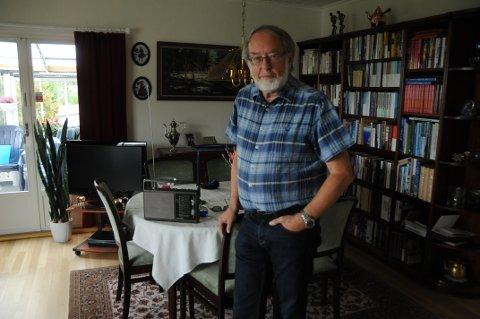 Fikk idé: En sen natt kom Jon Sverre Riise på en besparende løsning for gjenbruk av FM-radioer