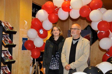 Ivonne og Kurt Salo gleder seg til filmfestival i Hønefoss med åpningsarrangement i Hønefoss kino og fullt program i Ringerike Kultursenter fra 7. til 11. november.