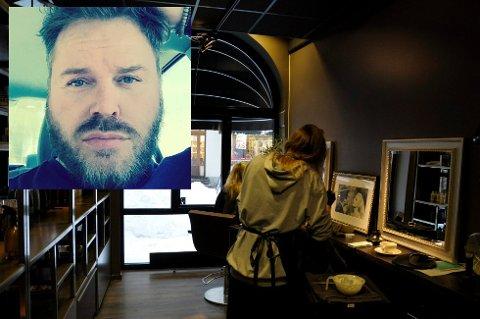 Velværesalongen Olav Tryterud Studio flytter rett over gata.  – Jeg regner med at vi er på plass i løpet av forsommeren, sier Olav Tryterud.