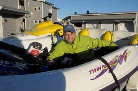 LYNET: Lars Lynet Larssen har planlagt den åtte uker lange turen fra Hvaler til Nordkapp og tilbake i to år.